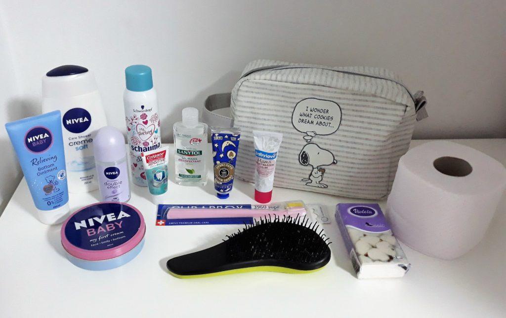Što sam spakirala u torbu za rodilište